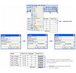 Inserting Product Formula