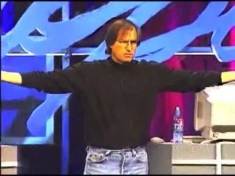 8. Steve Predicts iCloud... in 1997?!