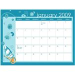 MS Word Calendar Example