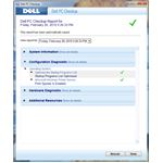 Dell PC Checkup Scan Result