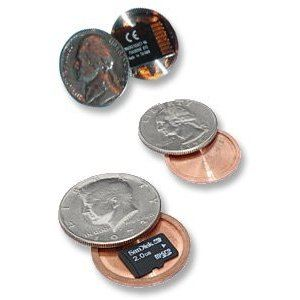 Micro SD Card Covert Coin