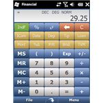 Panoramic Financial Calculator screenshot