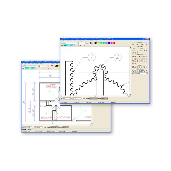 Download Free CAD Software: A9CAD And CADStd