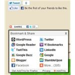 Social Bookmarketing Wordpress Plug in