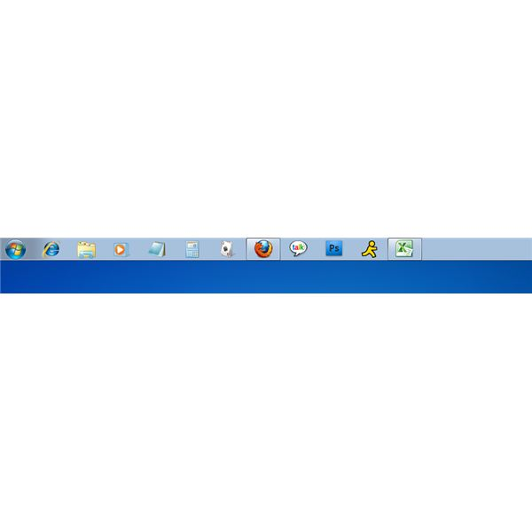 how to move windows button in task bar