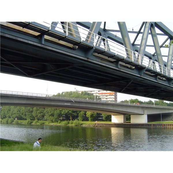Beam Bridge Construction Materials : Beam bridge construction design types of bridges