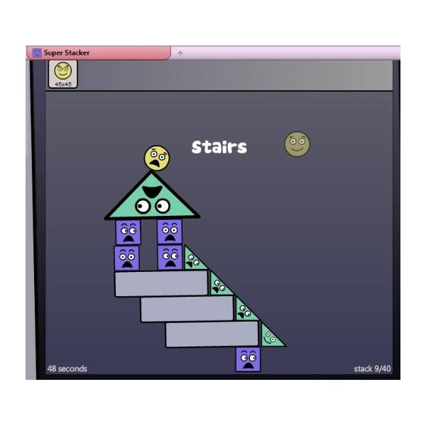 Square Triangle Game Triangles And Squares to