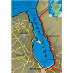 Map of Loch Ryan from Wiki Commons by SFC9394