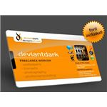 deviant ID Card TEmplate by DeviantDark