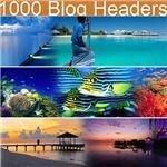 1000 blog headers