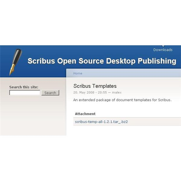 Use free scribus templates to save money and be more productive scribus03 reheart Image collections