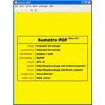 Sumatra PDF product screenshot