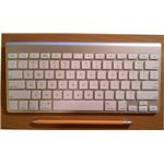 Apple Wireless Keyboard, compared with pencil