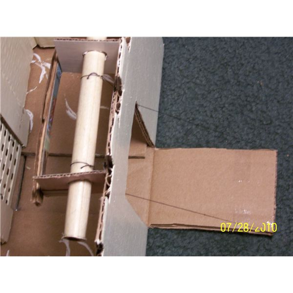 How to Make a Cardboard Castle for a Homeschooling Project
