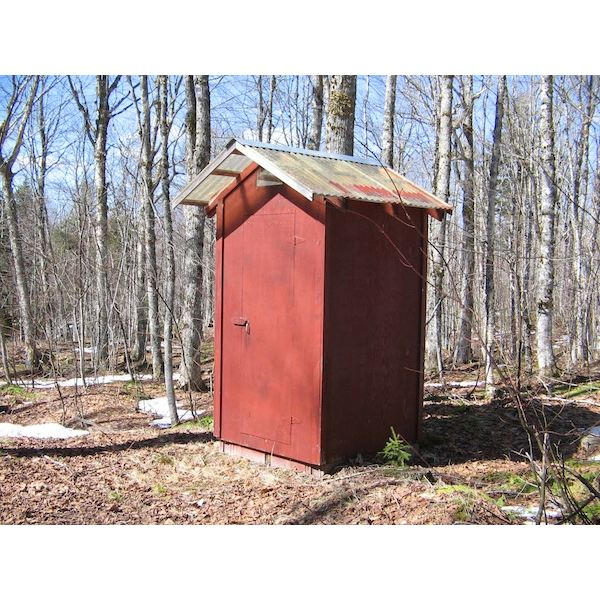 How to Build a Modern Outhouse for Your Back Yard that Isn't Smelly