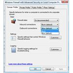 Enable outbound filtering