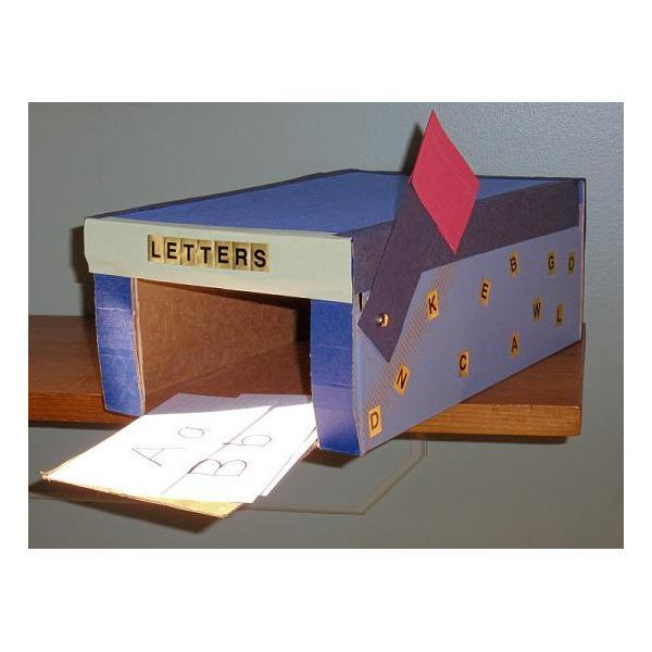 preschool mailbox post office and mail theme for preschool letter recognition 165