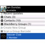 bbm contacts and groups