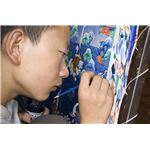 """Painting Thangka in Lhasa, Tibet"" by Luca Galuzzi - www.galuzzi.it/Wikimedia Commons"