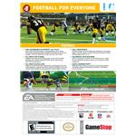 Madden 2009 Wii All-Play Back Cover