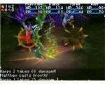 Golden Sun: Dark Dawn Battle Screen
