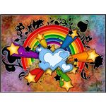 rainbow-backgrounds-hearts-flowers