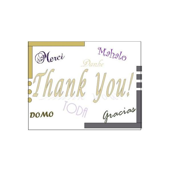 Attractive Thank You Postcards: Languages To Microsoft Thank You Card Template