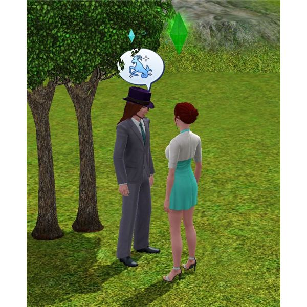 The Sims 3 zodiac signs of Air