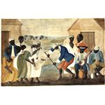 Slave dance to banjo2C 1780s