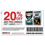 Take Advantage of Gamestop Coupons Like THis