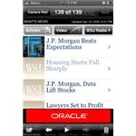 Wall Street Journal iPhone app
