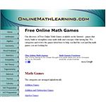 Online Math Learning Screenshot - cool math games