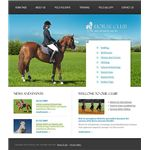 Horse Riding Website Theme by Entheos Templates