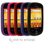 Samsung Gravity SMART Two-Piece Rubberized Plastic Case