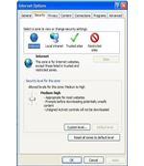 Enabling Custom IE Security