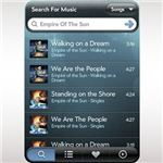 Grooveshark Palm Pixi App