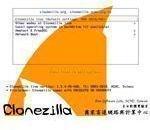 Clonezilla bootloader