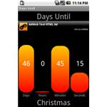 Days Until - Google Android Countdown Timer App