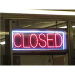 Closed Sign by Columbusneon