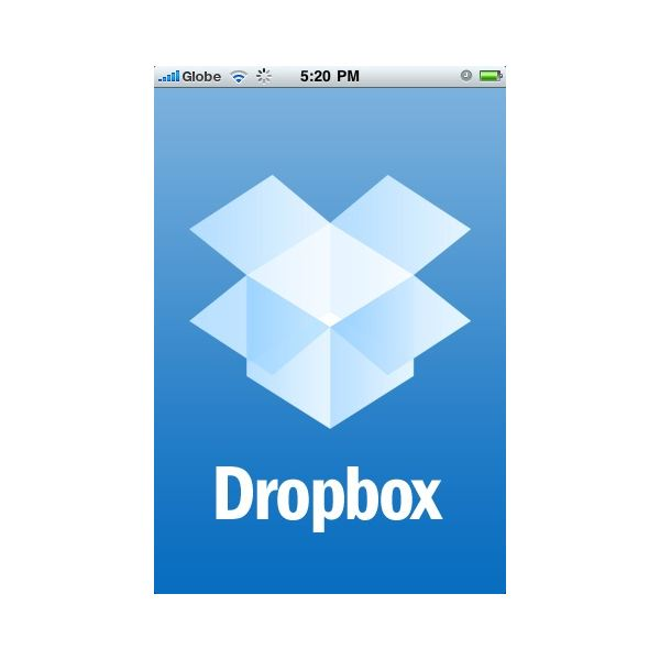 how to open dropbox files on iphone