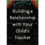 Parent/Teacher Relationship Tips