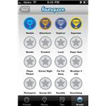 foursquare iphone app badges