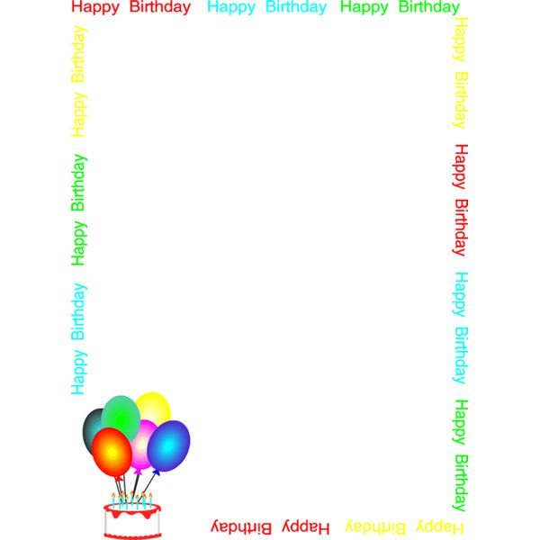 Free Printable Birthday Letters