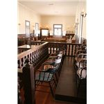 Courtroom,old Pinal courthouse