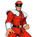 M. Bison in SNK vs Capcom
