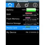 All-in-One Battery Alerts Memory Booster Device