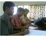 ESL Students attending class
