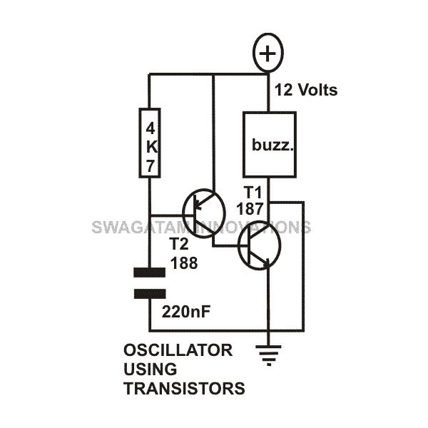 transistor circuits configuration  current amplifier  limiter  oscillator  latch