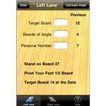 Bowlers Angle iPhone App