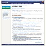The Ulead learning center is an invaluable source of information